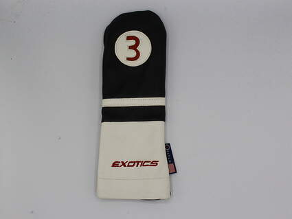 Tour Edge Exotics #3 Fairway Wood Headcover Made by Stitch