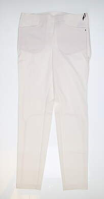 New Womens Ralph Lauren RLX Stretch Pants 8 White MSRP $165