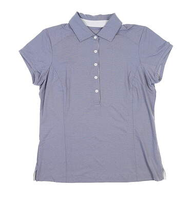 New Womens Zero Restriction Holly Polo Large L Storm 0722L MSRP $95