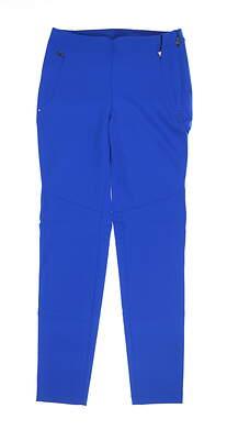 New Womens Ralph Lauren RLX Stretch Pants 6 Blue MSRP $165