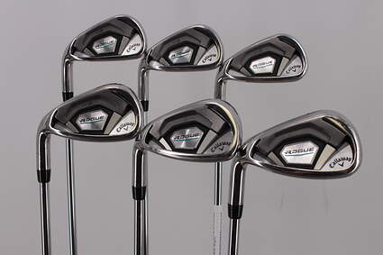 Callaway Rogue Iron Set 5-PW FST KBS MAX 90 Steel Regular Left Handed 38.25in