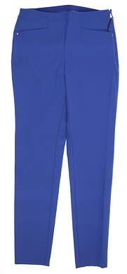 New Womens Ralph Lauren RLX Golf Pants 2 Blue MSRP $150
