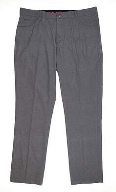 New Mens Puma Jackpot 5 Pocket Pants 38 x32 Heathered Gray 578796 01 MSRP $85