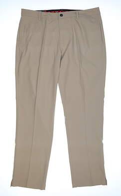 New Mens Puma Jackpot Pants 38 x32 White Pepper 578181 05 MSRP $80