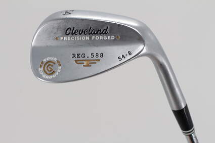 Cleveland 2012 588 Satin Wedge Sand SW 54° 8 Deg Bounce True Temper Tour Concept Steel Wedge Flex Right Handed 35.25in