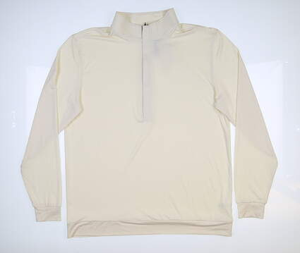New Mens MATTE GREY Hightower 1/2 Zip Golf Pullover Large L Mellow MSRP $85