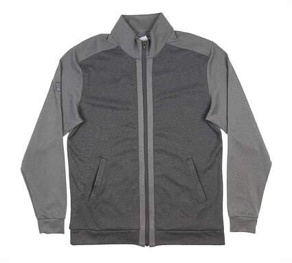 New Mens MATTE GREY Badge Bogey Jacket Medium M Gray MSRP $100