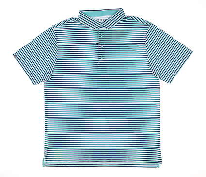 New Mens MATTE GREY Reed Golf Polo Large L Multi MSRP $80