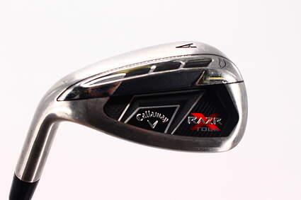 Callaway Razr X Tour Wedge Gap AW True Temper Dynamic Gold S300 Steel Stiff Left Handed 35.5in