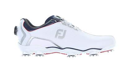 New Mens Golf Shoe Footjoy DNA BOA Medium 10 White 53344 MSRP $220