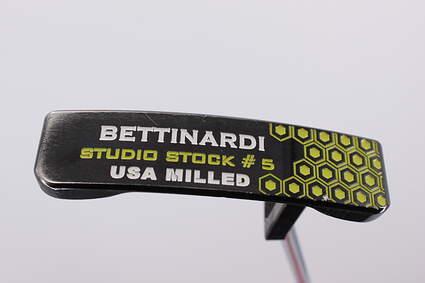 Bettinardi 2012 Studio Stock 5 Putter Steel Right Handed 34.0in