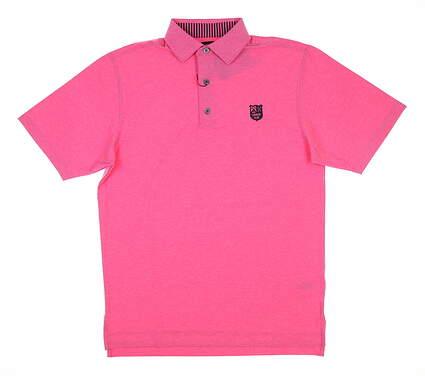 New W/ Logo Mens Footjoy Golf Polo Medium M Pink 25787 MSRP $90