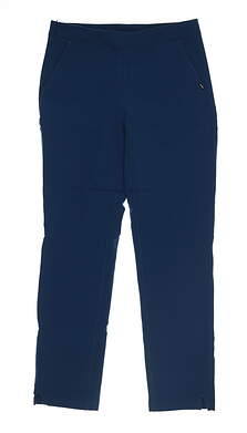 New Womens Puma 7/8 Golf Pants Small S Gibraltar Sea 595166 03 MSRP $75