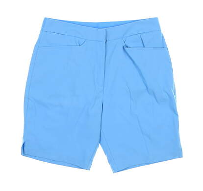 New Womens Puma Pounce Bermuda Shorts Small Ethereal Blue 577944 MSRP $65