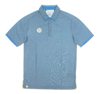 New Mens Adidas Polo Small S Blue MSRP $80 AE4069
