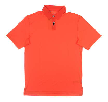 New Mens Adidas Golf Polo Small S Red MSRP $65 B32519