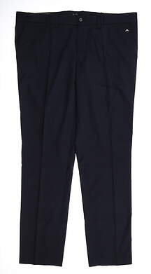 New Mens J. Lindeberg Elof Tight Fit Light Poly Pants 38 x32 Navy Blue MSRP $130