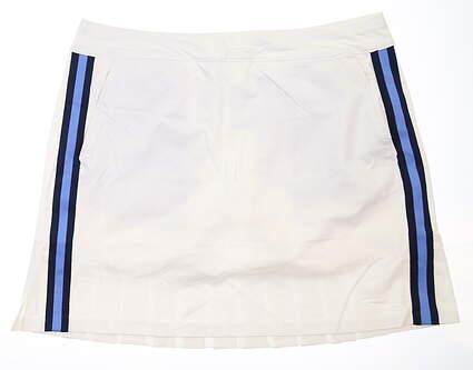 New Womens Ralph Lauren Golf Skort Large L White MSRP $185