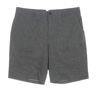 New Mens Dunning Stretch Performance Golf Shorts 40 Gray MSRP $85