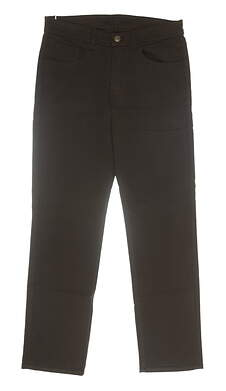 New Mens Straight Down Pants 32 x32 Brown MSRP $154