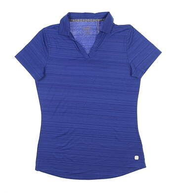 New Womens Puma Coastal Golf Polo Small S Dazzling Blue 595136 MSRP $55