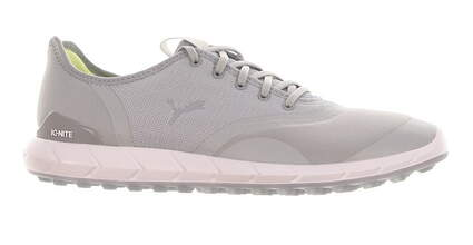 New Womens Golf Shoe Puma IGNITE Statement Low Medium 7.5 Gray MSRP $100 190578 02