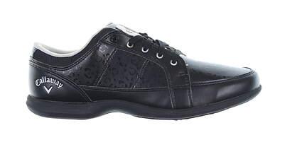 New Womens Golf Shoe Callaway Playa Medium 6 Black W677 MSRP $120