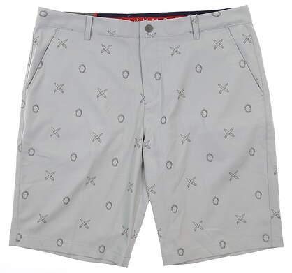 New Mens Puma Jaws Shorts 32 Gray MSRP $80 579307