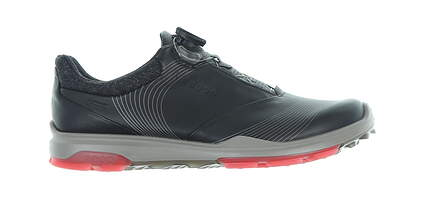 New Womens Golf Shoe Ecco BIOM Hybrid 3 40 (9-9.5) Black 125513 58452 MSRP $200