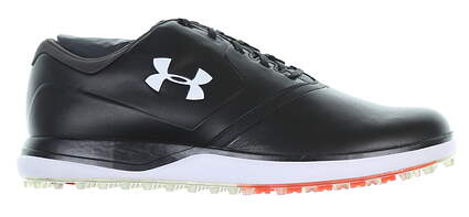 New Mens Golf Shoe Under Armour UA Performance SL Medium 9.5 Black MSRP $150