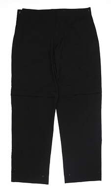 New Womens Zero Restriction Gore-Tex Rain Pants X-Large XL Black MSRP $260
