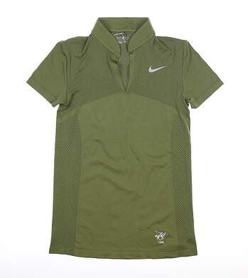 New Womens Nike Polo Small S Green MSRP $85 831468
