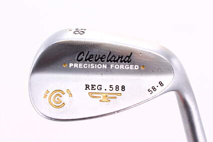 Cleveland 2012 588 Satin Wedge Lob LW 58° 8 Deg Bounce True Temper Tour Concept Steel Wedge Flex Right Handed 35.0in