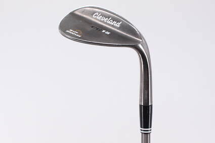 Cleveland CG15 Black Pearl Wedge Sand SW 56° 16 Deg Bounce Aerotech SteelFiber i125 Graphite Stiff Right Handed 35.5in