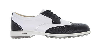 New Womens Golf Shoe Ecco Classic Hybrid Medium 9 Black/White 1110335 MSRP $190
