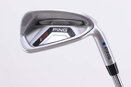 Ping I25 Single Iron 7 Iron Ping CFS Steel Stiff Right Handed Blue Dot 36.75in