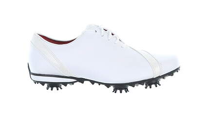 New Womens Golf Shoe Footjoy LoPro Collection Medium 7.5 White MSRP $110 97135