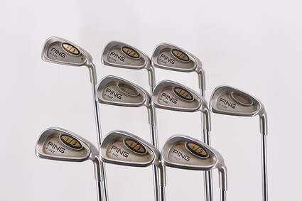 Ping i3 Oversize Iron Set 2-PW Ping JZ Steel Stiff Right Handed Green Dot 37.75in