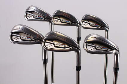 Callaway XR Pro Iron Set 5-PW UST Mamiya Recoil 660 F3 Graphite Regular Right Handed 38.0in