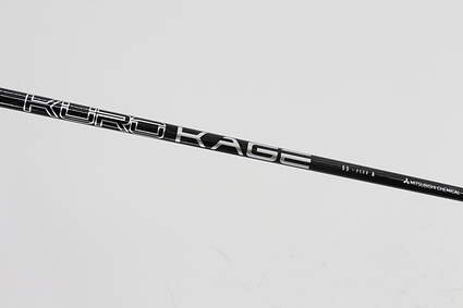 Used W/ Titleist Adapter Mitsubishi Rayon Kuro Kage Black DC TiNi SFW Fairway Shaft Senior 40.75in Titleist SureFit Adapter