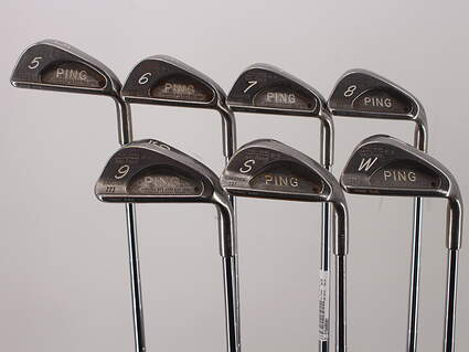 Ping Karsten III Iron Set 5-PW SW Ping ZZ Lite Steel Stiff Right Handed Black Dot 37.5in