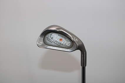 Ping Zing Single Iron 5 Iron Ping KT-M Steel Regular Right Handed Orange Dot 39.5in