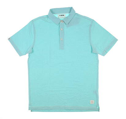 New Mens LinkSoul Golf Polo Small S Blue LS183 MSRP $75