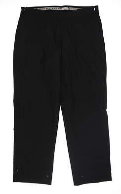 New Womens Zero Restriction Gore-tex Rain Pants Large L Black MSRP $260
