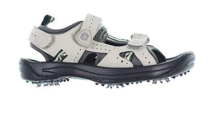 New Womens Golf Shoe Footjoy GreenJoys Sandal Medium 9 Taupe 48461 MSRP $70