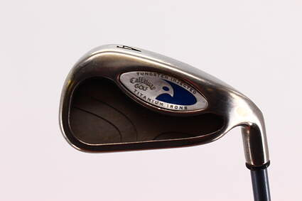 Callaway Hawkeye Single Iron 4 Iron Callaway Stock Graphite Graphite Regular Right Handed 38.5in