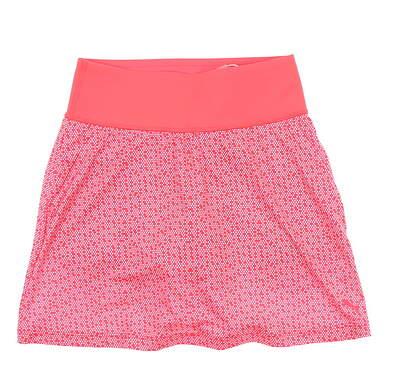 New Womens Puma PWRSHAPE Polkadot Knit Skort XX-Small XXS Pink MSRP $70 574850 03