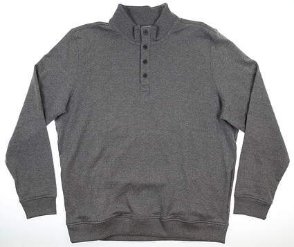 New Mens Travis Mathew Wall Sweater XX-Large XXL Gray MSRP $125 1ML084