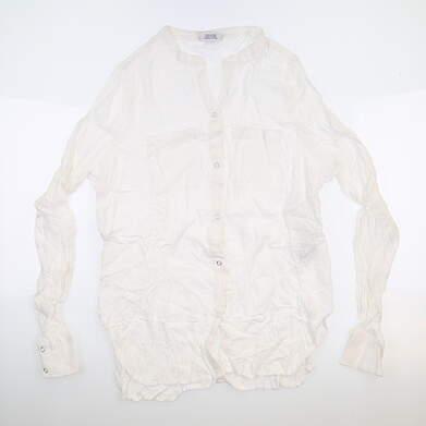 New Womens Jo Fit Long Sleeve Mock Neck X-Small XS White LT110-WHT