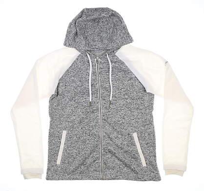 New Womens Columbia Darling Days Full Zip Sweatshirt Large L Gray MSRP $65